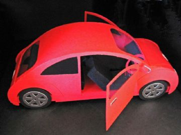 Beetle Car Template